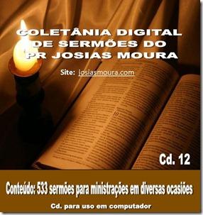 012. COLETANIA DE SERMÕES DO PR JOSIAS MOURA. VOL 01