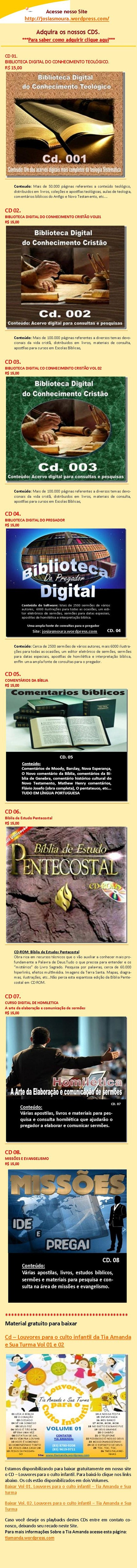 PROPAGANDA DOS CDS PR JOSIAS MOURA