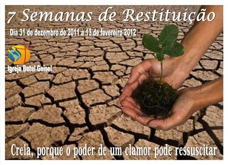 MURAL DA CAMPANHA DA RESTITUIÇÃO - BETEL