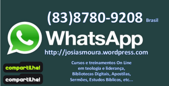 whatsapp josias moura