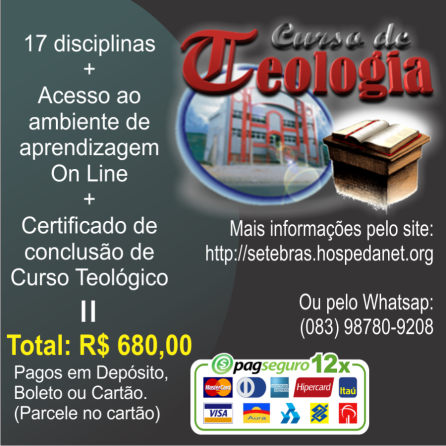 CURSO DE TEOLOGIA BASICA - PROPAGANDA